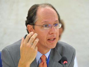 Pablo de Greiff, relator especial de la ONU sobre justicia transicional.