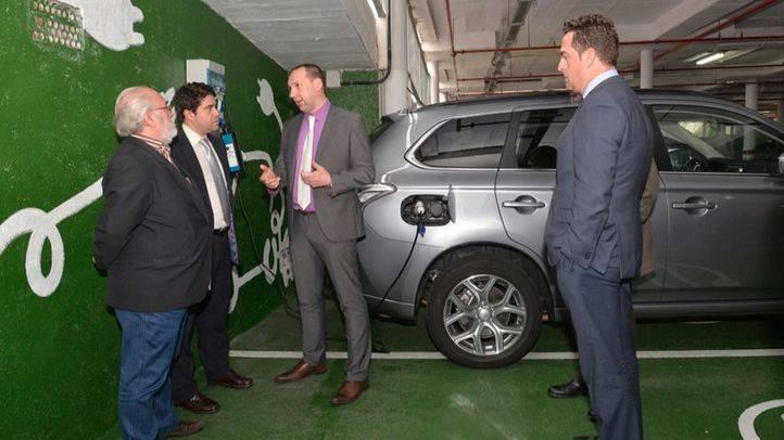 Valdemoro ya tiene su primer punto de recarga para vehículos eléctricos