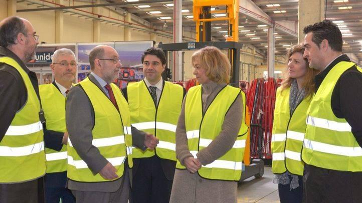 La empresa Unide, en Valdemoro, renueva maquinaria a través del Plan Renove