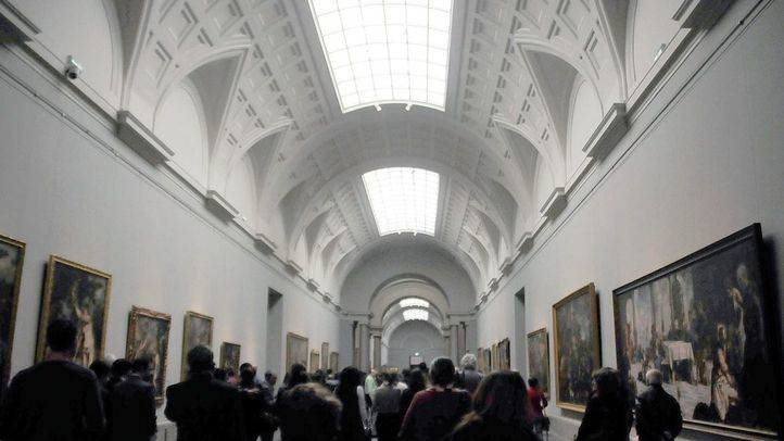 Museo del Prado, galerías centrales