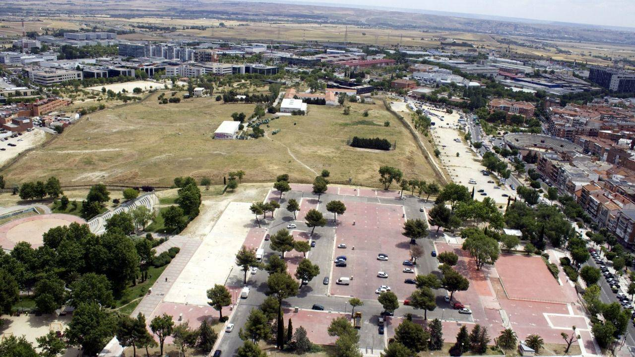 El parque de la marina de san sebasti n de los reyes - Decoracion san sebastian de los reyes ...