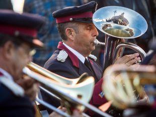 Banda de Música de la Policía Municipal (archivo).