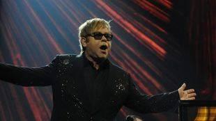 Elton John actúa este lunes en el Teatro Real