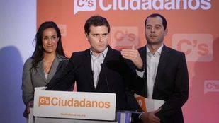 Francisco de la Torre, Marta Rivera, Miguel Gutiérrez y Patricia Reyes, candidatos de Ciudadanos por Madrid al Congreso