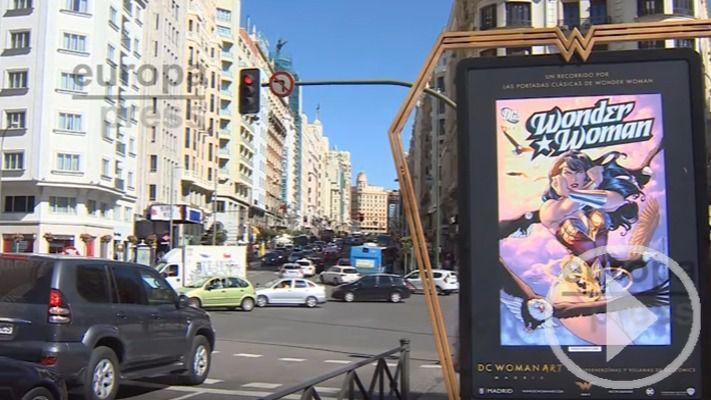 Las superheroínas toman las calles de Madrid