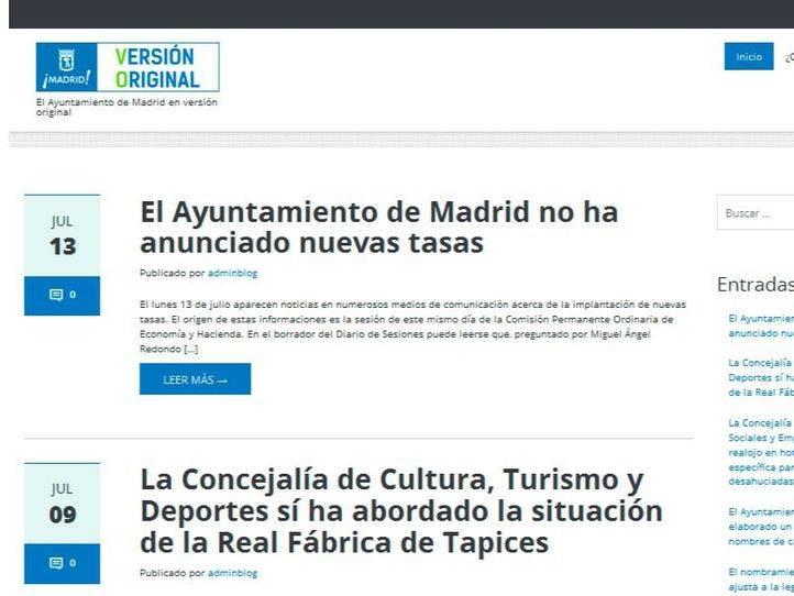 La web 'Versión Original' no citará a periodistas