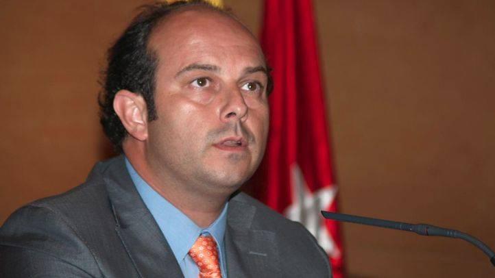 Pedro Rollán, consejero de transportes, vivienda e infraestructuras de la Comunidad de Madrid