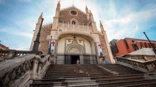 Fachada de la Iglesia de los Jerónimos.