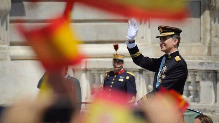 Felipe VI el día de su proclamación.