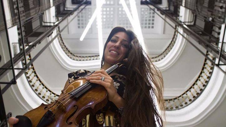 Entrevista a Leticia Moreno, solista de violin, galardonada con el Premio Madrid a la acción cultural.