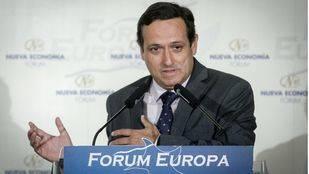 Juan Pablo Lázaro, nuevo presidente de CEIM, interviene en los desayunos informativos Forum Europa.