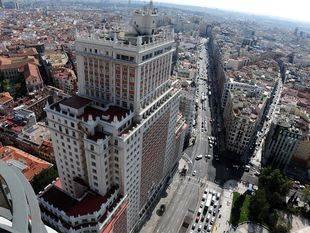 El Grupo Wanda pide desmontar el edificio España para poder hacer la obra que planeó