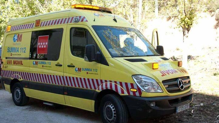 Herida grave una mujer después de que el coche en el que viajaba volcara