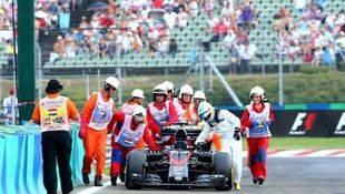 GP de Hungría: Más de lo mismo, con los McLaren-Honda arrastrándose por la pista