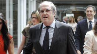 Ángel Gabilondo. Sesión constituyente de la Asamblea de Madrid