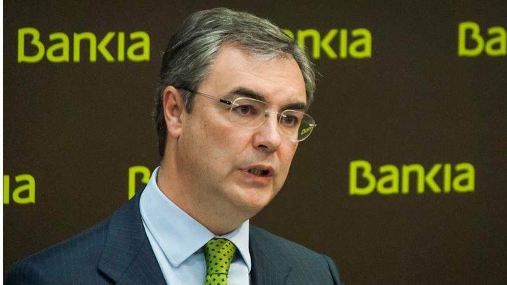 José Sevilla en la presentación de los resultados del primer trimestre de Bankia.