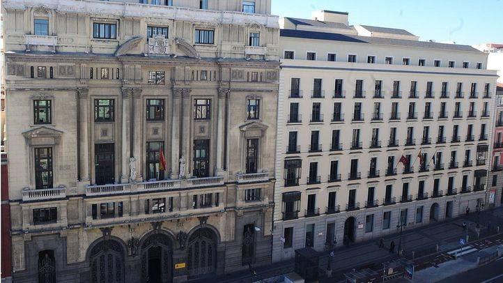 Ministerio y Consejeria Regional de Educación en c Alcalá