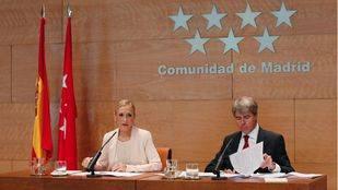 Rueda de prensa tras el Consejo de Gobierno de la Comunidad de Madrid.