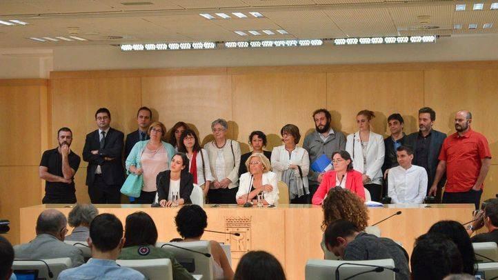 Miembros del consejo de Gobierno de la alcladía del Ayuntamiento de Madrid.