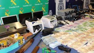 Detenidas 23 personas por blanqueo de capitales procedente del tráfico de droga
