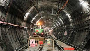 Lavado de cara a los túneles de Metro