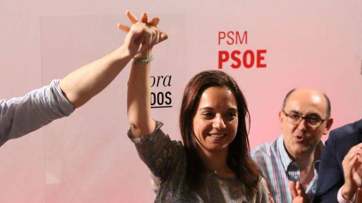 Sara Hernández, recién elegida secretaria general del PSM.