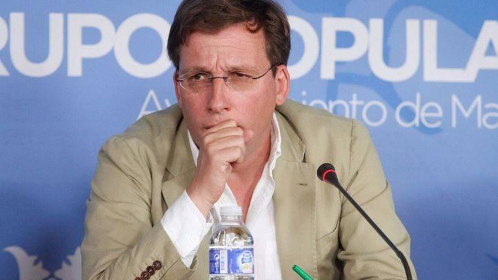 José Luis Martínez-Almeida, portavoz del Grupo Municipal Popular