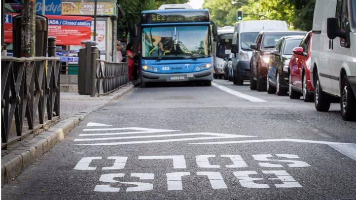 Cinco líneas cambian su recorrido en la avenida de Oporto