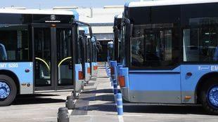 Más de 150 autobuses de la EMT contarán con cargadores USB