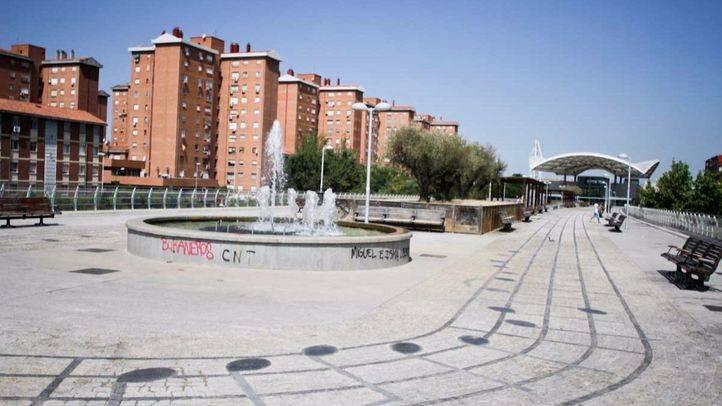 Palomeras Bajas, en el distrito Puente de Vallecas.