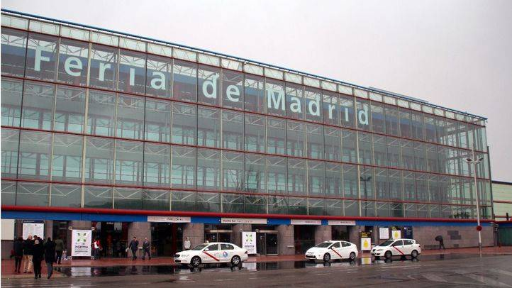 Edificio Ifema exterior. ''Feria de Madrid''