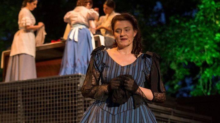 Luisa Fernanda, en los Veranos de la Villa