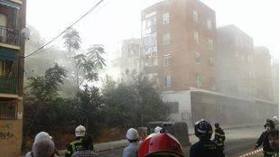 Protección Civil recupera los enseres de las familias afectadas por el derrumbe