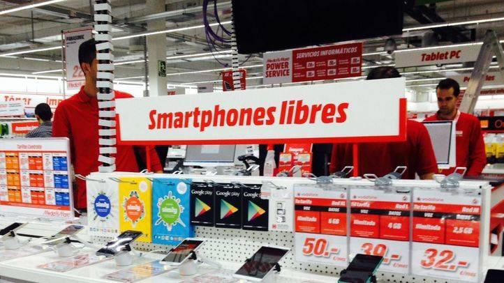 Apertura de una nueva tienda Media Markt en la calle Alcalá, en Goya.