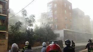 Santalucía se hará cargo de los costes del edificio derrumbado