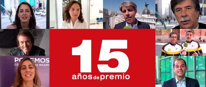 Los Premios Madrid cumplen 15 años