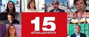 El mundo de la política y de la cultura felicita a Madridiario por sus 15 años de Premios Madrid