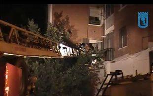 Desalojo de viviendas en Carabanchel
