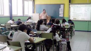 Niños de primaria de un colegio Público