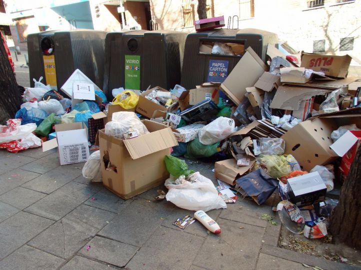 Huelga indefinida de recogida de basuras a partir del 12 de junio