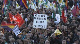 Marchas por la Dignidad. (Archivo)
