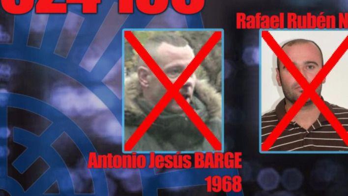 Detenido uno de los fugitivos españoles más buscados
