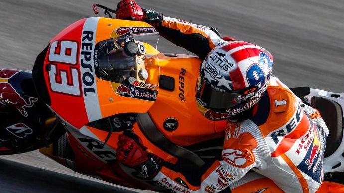 Márquez continua con su remontada en el GP de Indianápolis