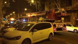 Incendio en la calle Téllez