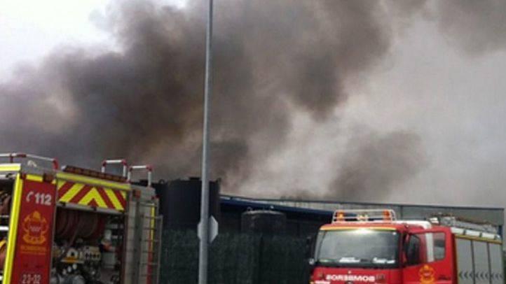 Incendio cercano a Campo Real (archivo)