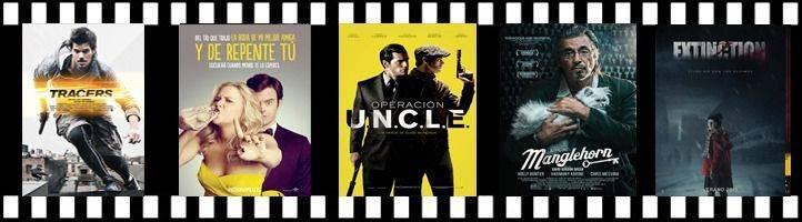 Acción, comedia y terror, en los estrenos de cartelera