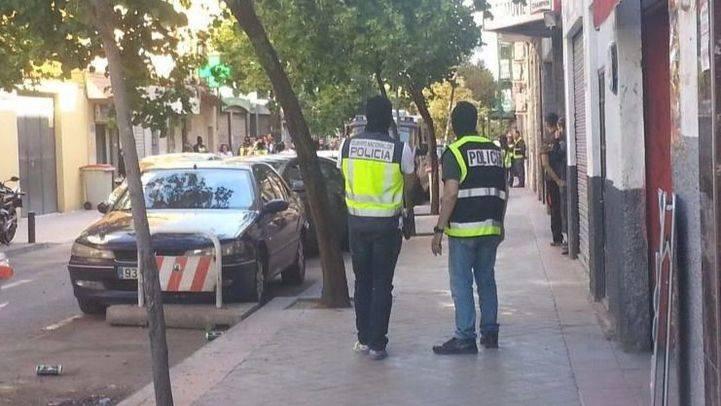Momento de la detención de uno de los yihadistas. (Archivo)