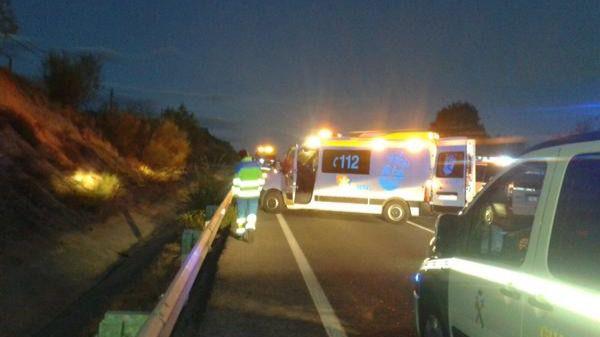 Muere un hombre de 24 años tras accidentarse con su moto en la M-404