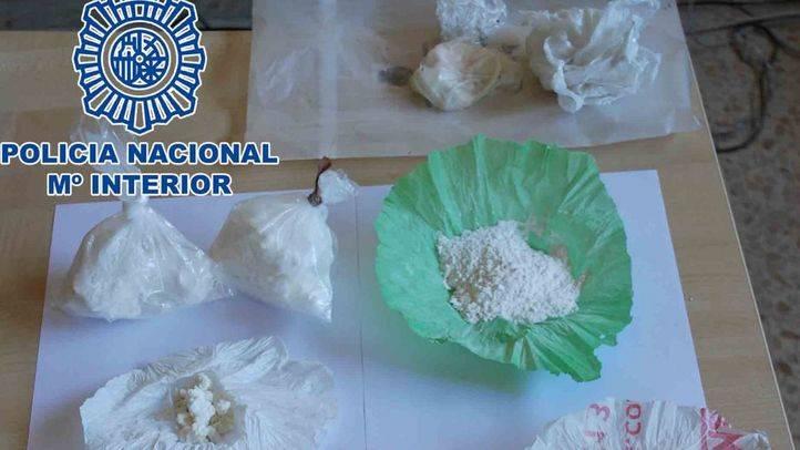 Desmantelado un punto de venta de sustancias estupefacientes en la Cañada Real