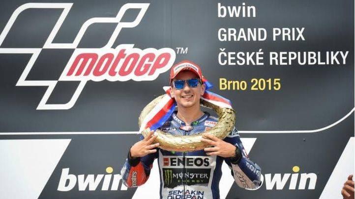 Lorenzo, nuevo líder del Campeonato del Mundo de MotoGP